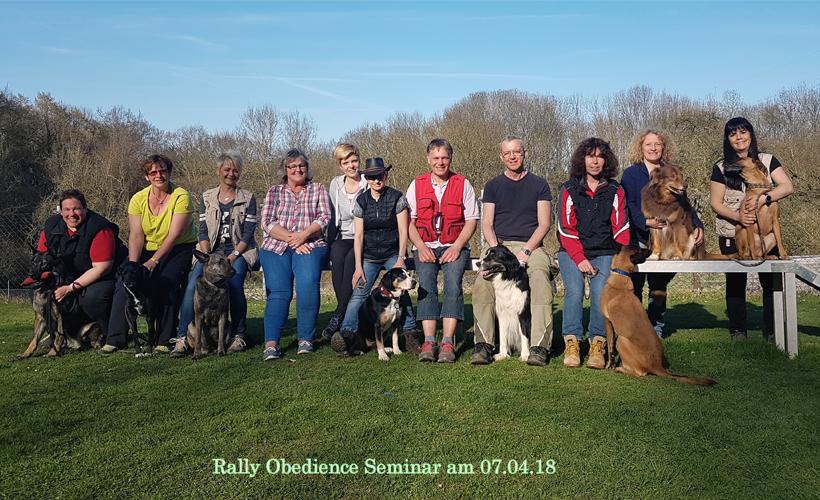 Rally Obedience Seminar mit Iris Sommerauer