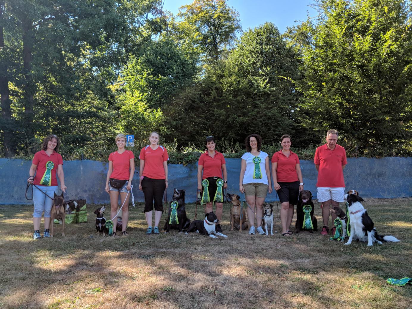 Rally Obedience Landesmeisterschaft 2018